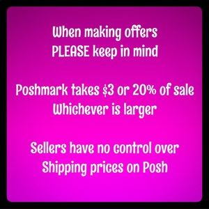 Other - Posh mark takes 20% of our Sales